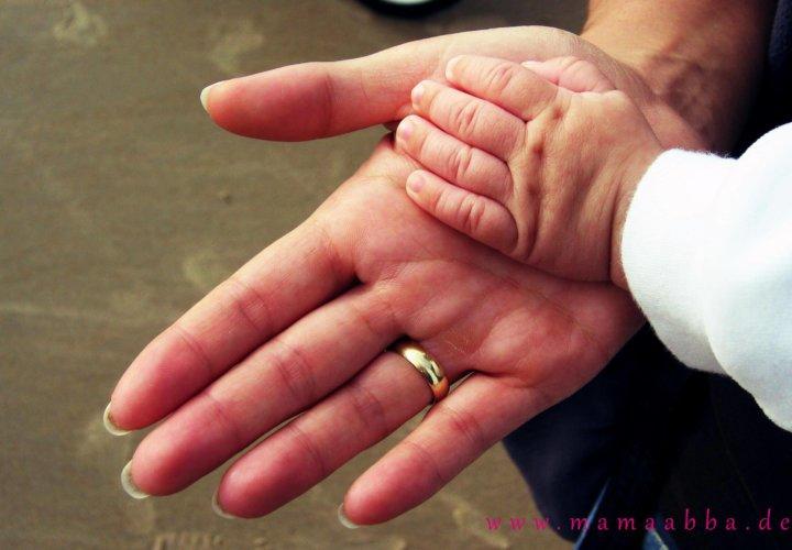 Deine kleine Hand