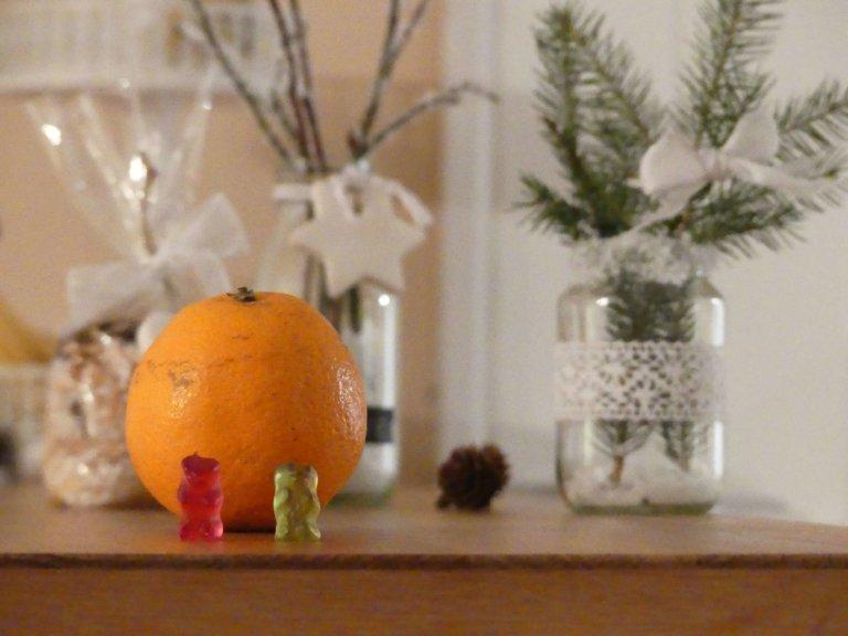 Von Gummibärchen und Orangen