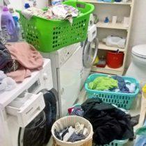 Wäschechaos